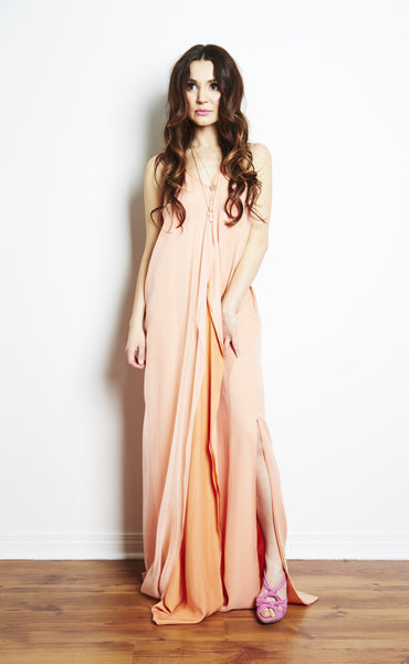 Marina Silk Gown by Brose - RENTAL