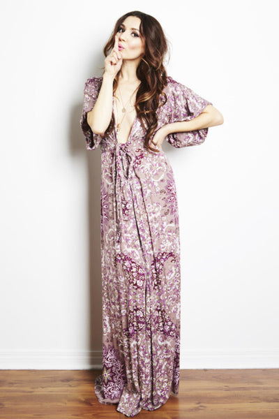 Kimono Maxi Dress by Ale by Alessandra - RENTAL