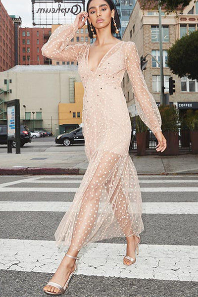 All That Glitters Maxi by For Love and Lemons - RENTAL