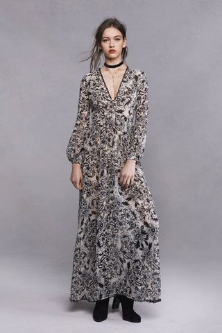Gracie Maxi Dress by For Love and Lemons - RENTAL