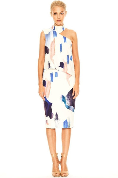 Starting Over High Neck Dress by Cooper Street - FINAL SALE