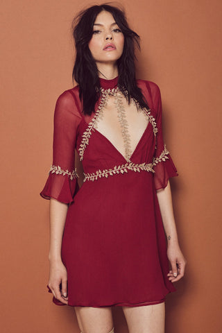 Lille Mini Dress by For Love and Lemons - FINAL SALE