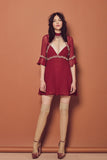 Lille Mini Dress by For Love and Lemons - RENTAL