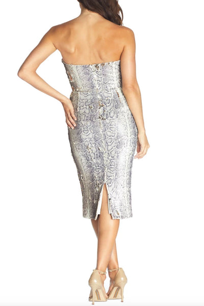 Lola Sequin Midi Dress by Dress The Population - RENTAL