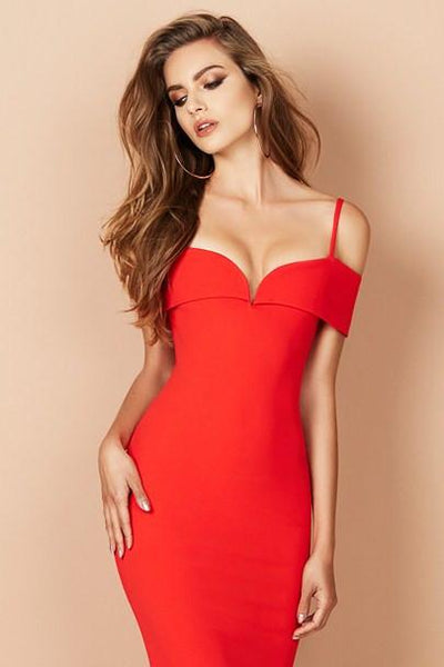 Pretty Woman Midi Dress by Nookie - RENTAL