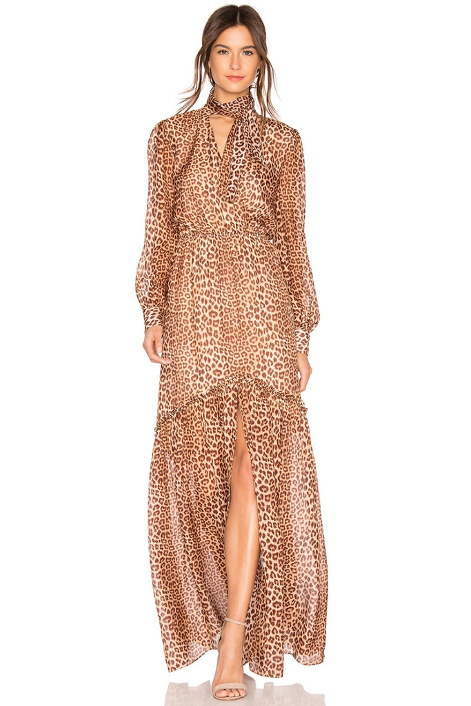 db8aa5392cc8 Verushka Leopard Print Dress by Rachel Zoe - RENTAL | The Fitzroy