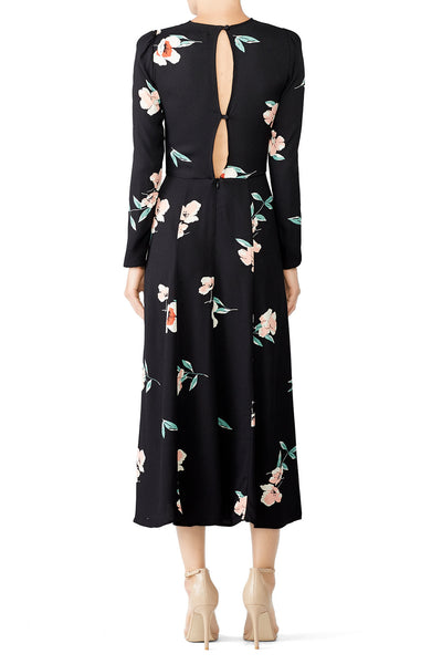 Vanessa Floral Print Dress by Reformation - RENTAL