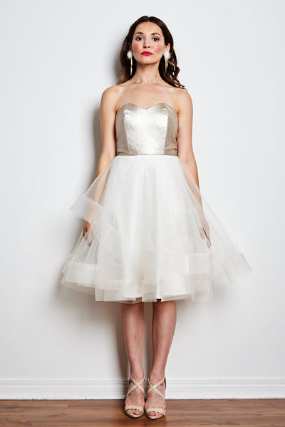 Vanilla Sky Tulle Dress by Jordan de Ruiter - RENTAL