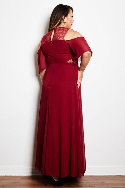 The Mulberry Gown - RENTAL