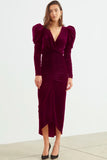 Alicia velvet dress Ronny Kobo
