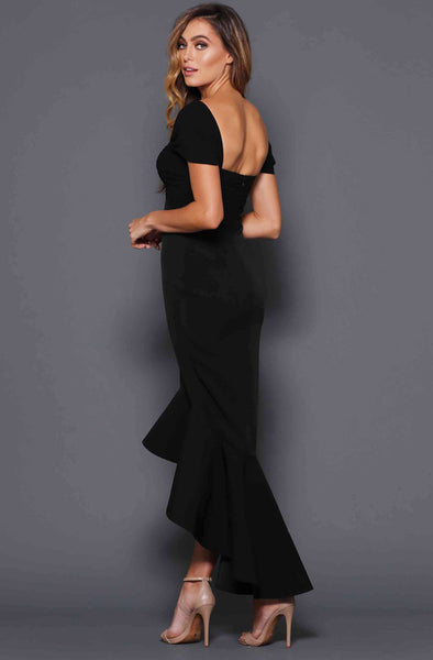 Alison Cap Sleeve Gown in by Elle Zeitoune - RENTAL