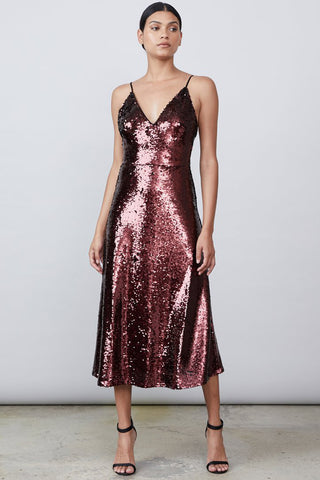 Livia Sequin Dress Allen Schwartz