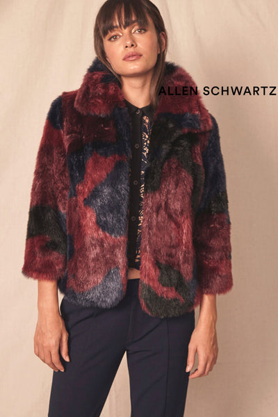 Mel Faux Fur Coat by Allen Schwartz