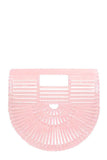 Mini Ark Bag in Pink by Cult Gaia - RENTAL