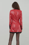 Avril Pink Sequin Blazer Dress by Ronny Kobo - RENTAL