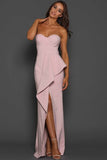 AYSHA BLUSH GOWN BY ELLE ZEITOUNE