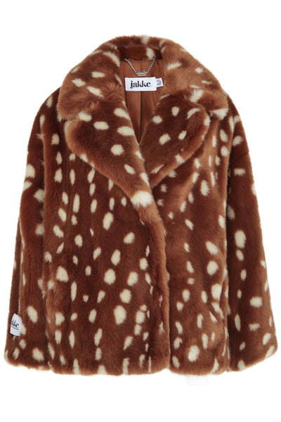 Bambi Faux Fur Coat by Jakke