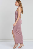 Margeaux Halter Neck Gown by Bariano - RENTAL
