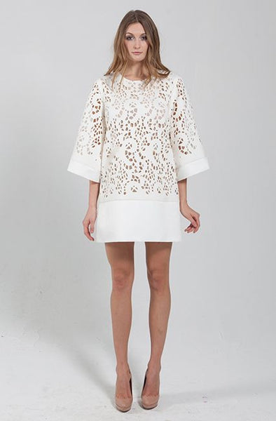 Lasercut Dress by Narces - RENTAL