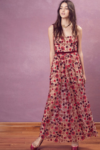 Beatrice Strappy Maxi Dress by For Love and Lemons