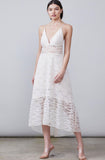 Allen Schwartz Bella Mixed Lace Dress Canada