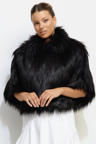 Nord Cape in Black by Unreal Fur - RENTAL