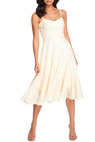 Cream sequin midi dress rental - Toronto