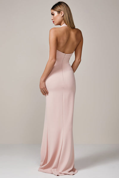 Madonna Gown in Blush Gown by Nookie - RENTAL