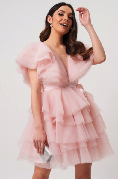 Powder Pink Dream Dress by Forever Unique - RENTAL