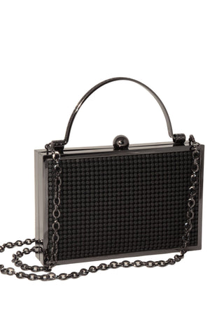 bond street box clutch by whiting and davis