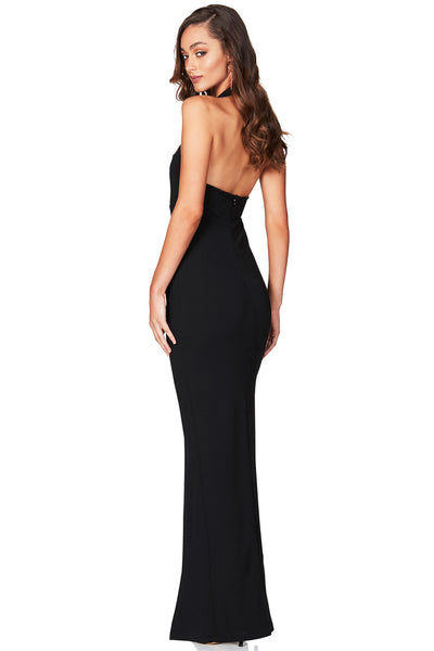 Nookie Boulevard Full length black gown