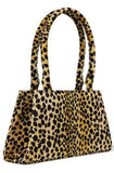 Dora Leopard Print Top Handle Bag by RIXO - RENTAL