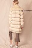 Magic Faux Fur Echo Coat by Allen Schwartz