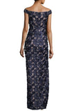 Fleur Floral Applique Gown by Aidan Mattox - RENTAL