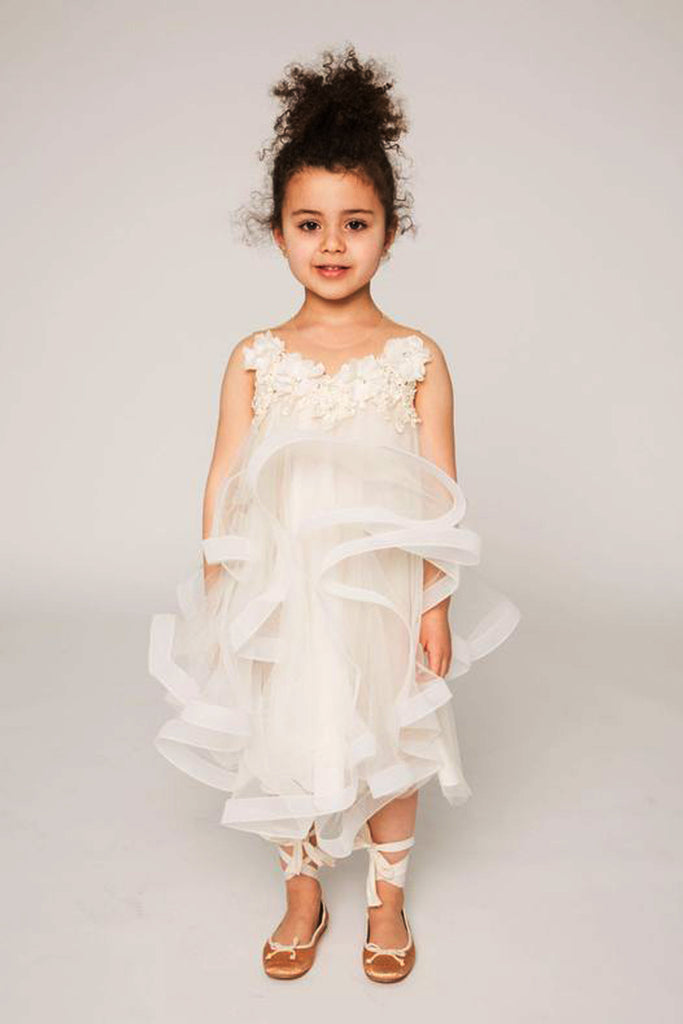 6536809f1d The Zoe - Children s Designer Dress by Narces - RENTAL