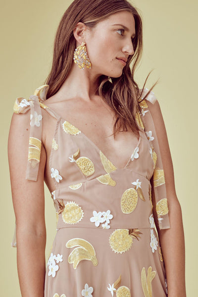 Fruit Punch Sequin Midi Dress by For Love and Lemons