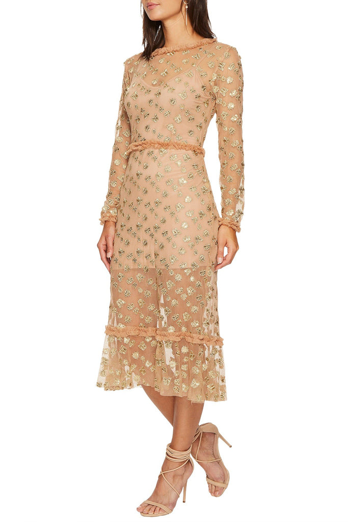 4a851151d7 Rent For Love and Lemons Dresses in Canada at Studio Fitzroy Golden Garden  Midi ...
