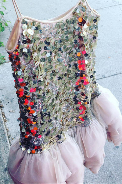 Grace Pennies Sequin Tutu Dress by Brose - RENTAL
