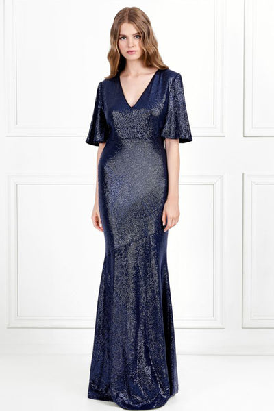 Heather Fluid Sequin Gown by Rachel Zoe - RENTAL
