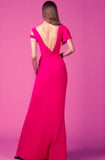 Hot pink gown rental Canada