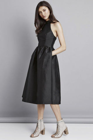 The Last Word Dress in Black by Pink Stitch - RENTAL