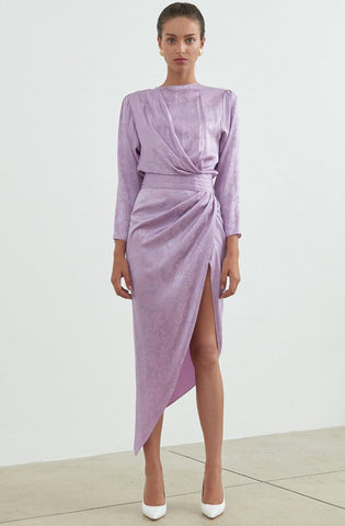 Ronny Kobo Jade Dress Lavender