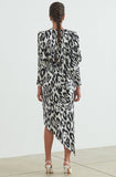 Jade Dress Ronny Kobo Black and White