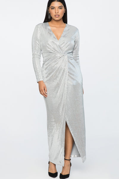 Magic Hour Sequin Dress by Jason Wu X Eloquii - RENTAL