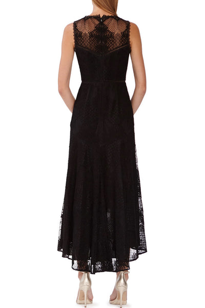 Meghan Lace Midi Dress by ML Monique Lhuillier - RENTAL