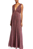 Rainbow Pleated Gown by Jill Jill Stuart - RENTAL