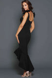 Josie Gown in Black by Elle Zeitoune - RENTAL
