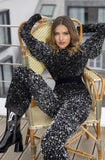 Stella Sequin Jumpsuit by Gemy Maalouf - RENTAL