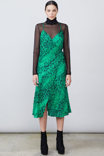 Langley Wrap Dress & Top by Allen Schwartz - RENTAL