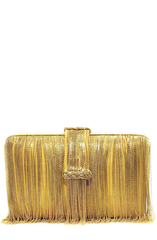 yellow braided belt chunky clutch simitri designs
